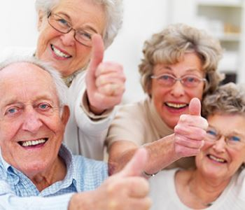 thumbs up from elders for the dental service