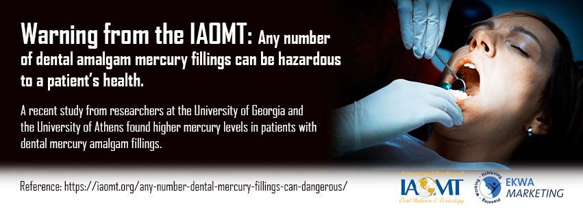 IAOMT Infographics March 3, Advanced Dental Practices, Dr. Ross K. Palioca