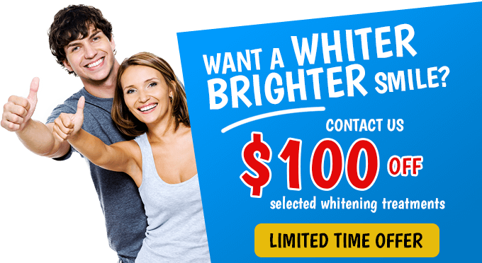 Limited teeth whitening offer at Advanced Dental Practices